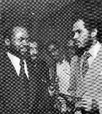 Samora Machel with Robert Van Lierop