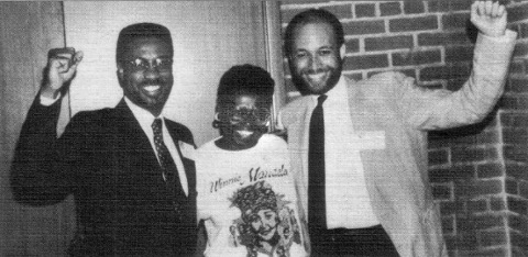 Damu Smith, Jean Sindab, Aubrey McCutcheon